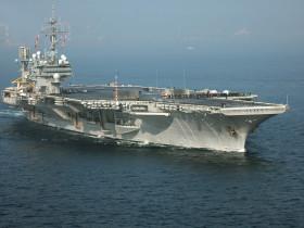 Winter CruiseCleared for public release by Lt.Cmdr. Brook DeWalt, USS Kitty Hawk Public Affairs Officer