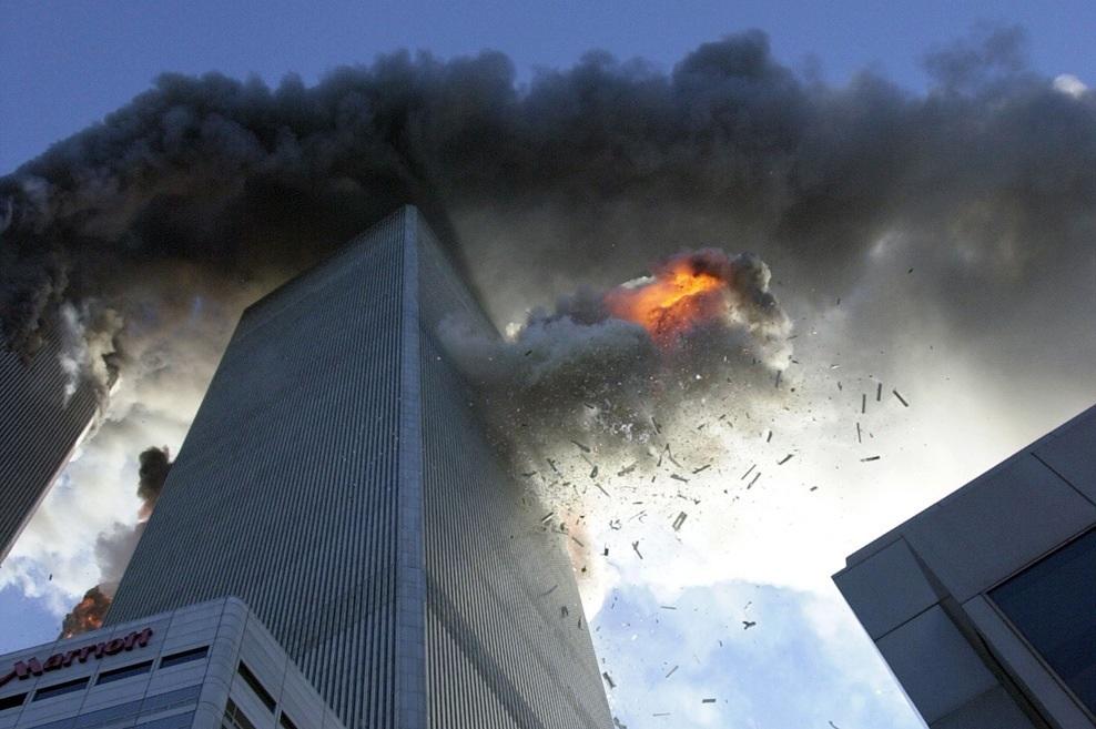 911 WTC South Tower Plane Crash