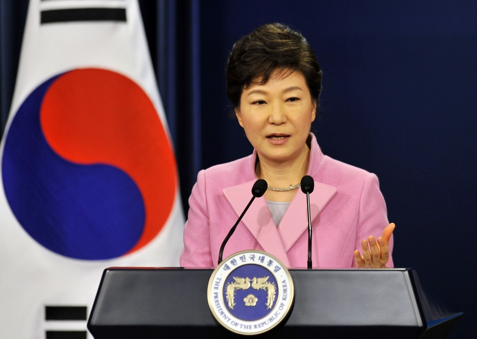 Image result for Park Geun Hye and choi
