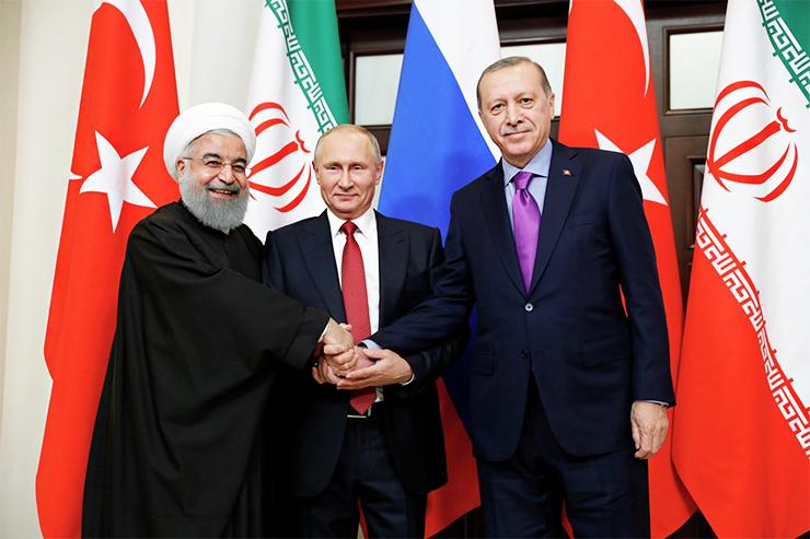 Russia-Turkey-Iran summit on Syria in Sochi