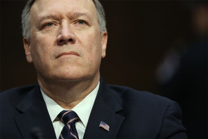 Senate Committee Holds Confirmation Hearing For Rep. Mike Pompeo To Become Director Of C.I.A.