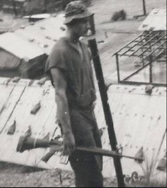 Figure 1 Lance Corporal Gordon Duff, BLT 1/26 Marines, Vietnam September 1969