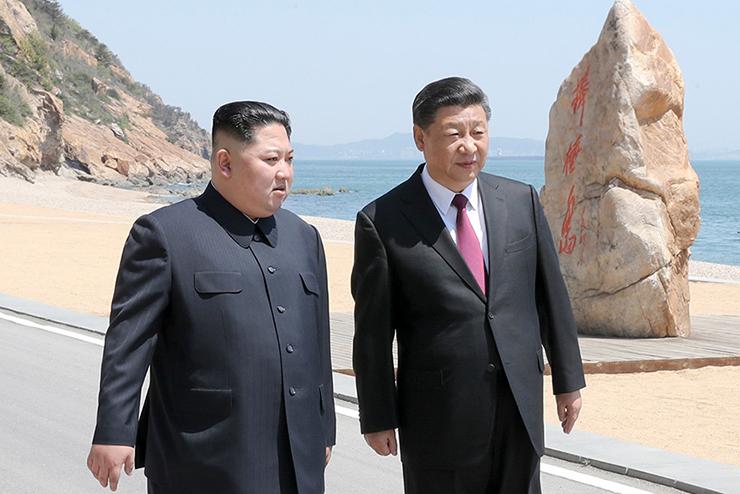 China North Korea