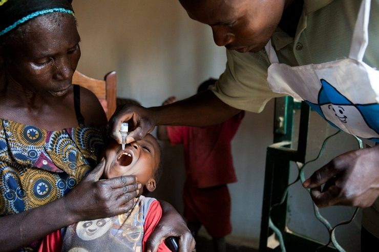 Gates Vaccine Spreads Polio Across Africa