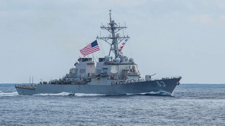 Die Vereinigten Staaten stehen vor einer katastrophalen Perspektive im Südchinesischen Meer