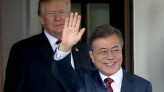 The topic of North Korea at the Summit between Leaders of South Korea and the US