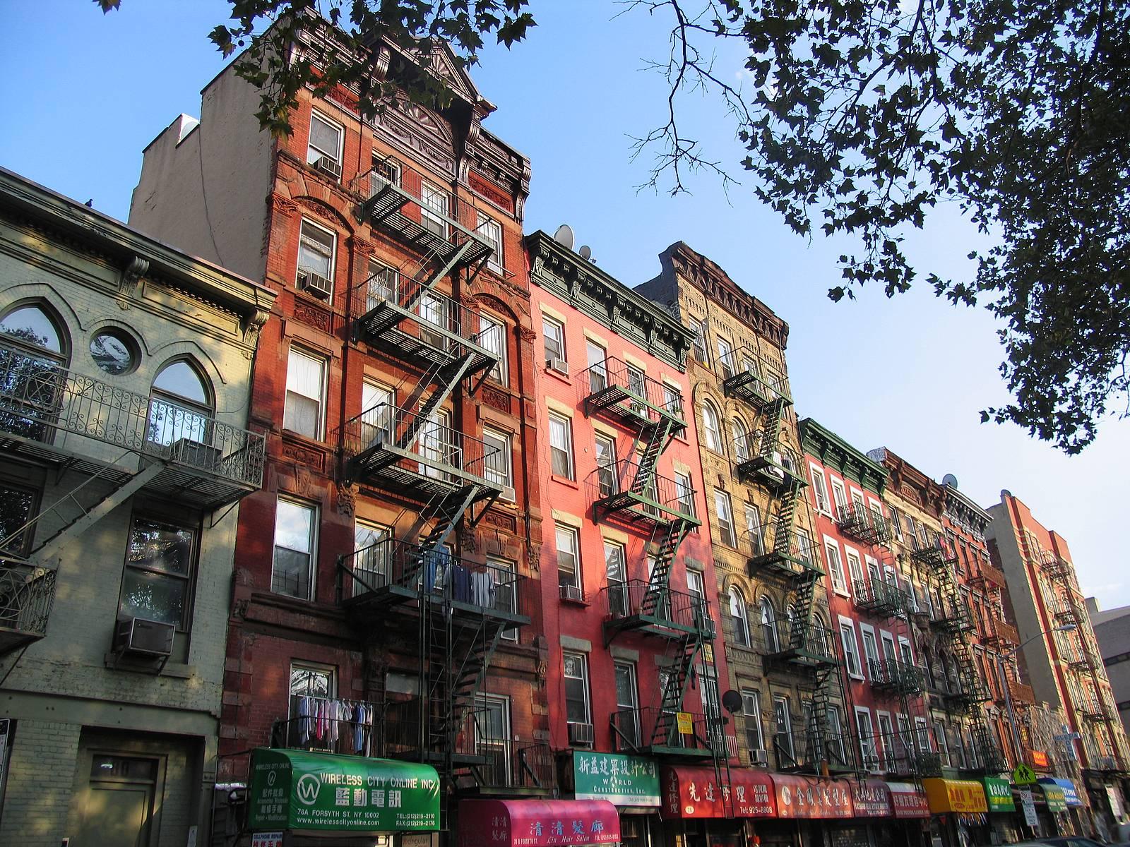 Дома в нью-йорке фото