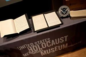 US-HISTORY-HOLOCAUST-ROSENBERG-DIARY